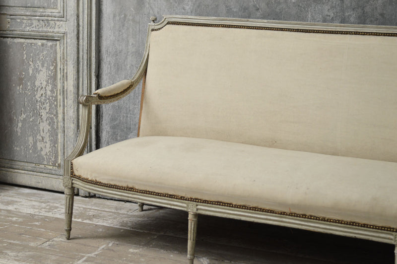 French late 18th Century salon sofa