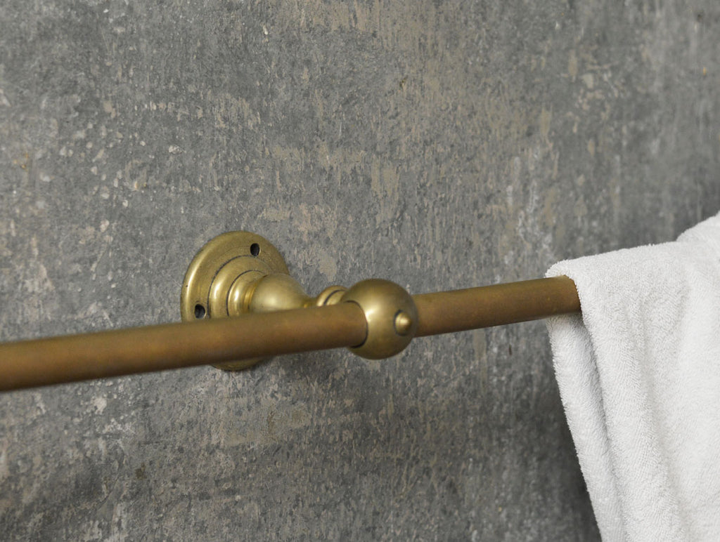 French brass towel rail.