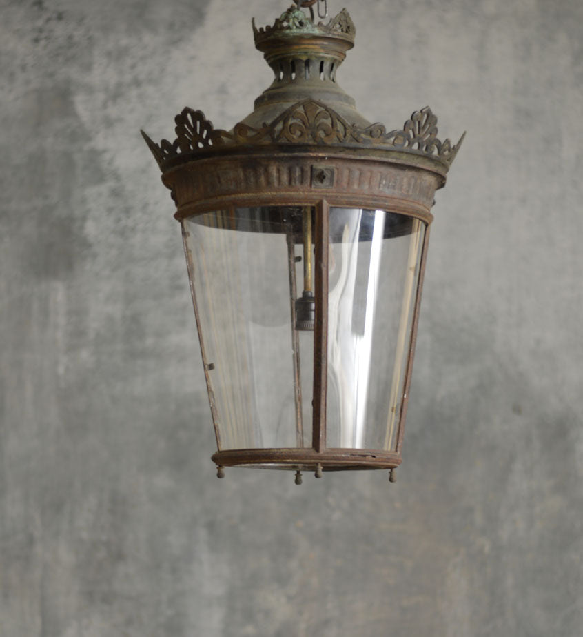 19th CENTURY FRENCH LANTERN