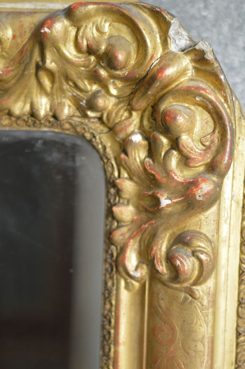 LOUIS PHILIPPE ORIGINAL GILT MIRROR