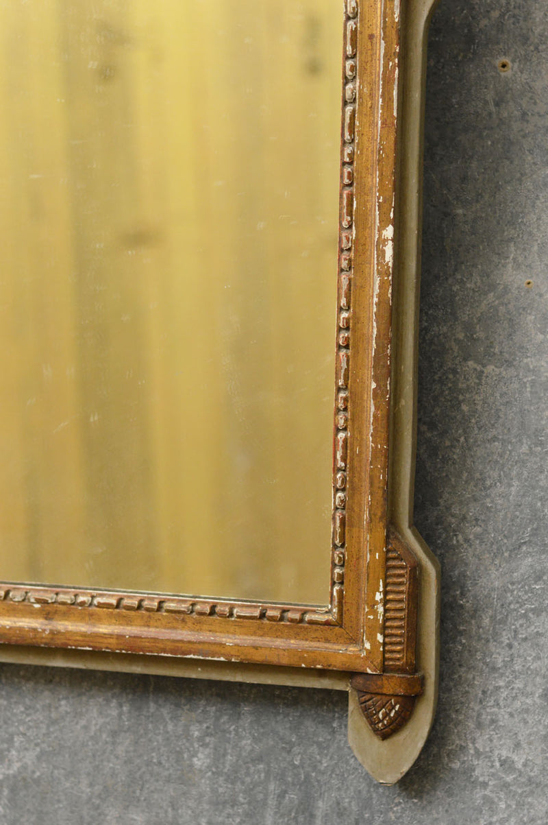 French 19th Century carved mirror