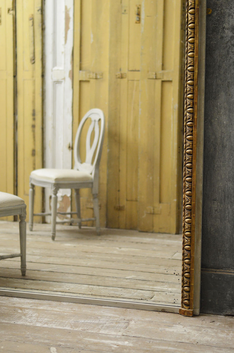 French 18th Century Large Trumeau mirror
