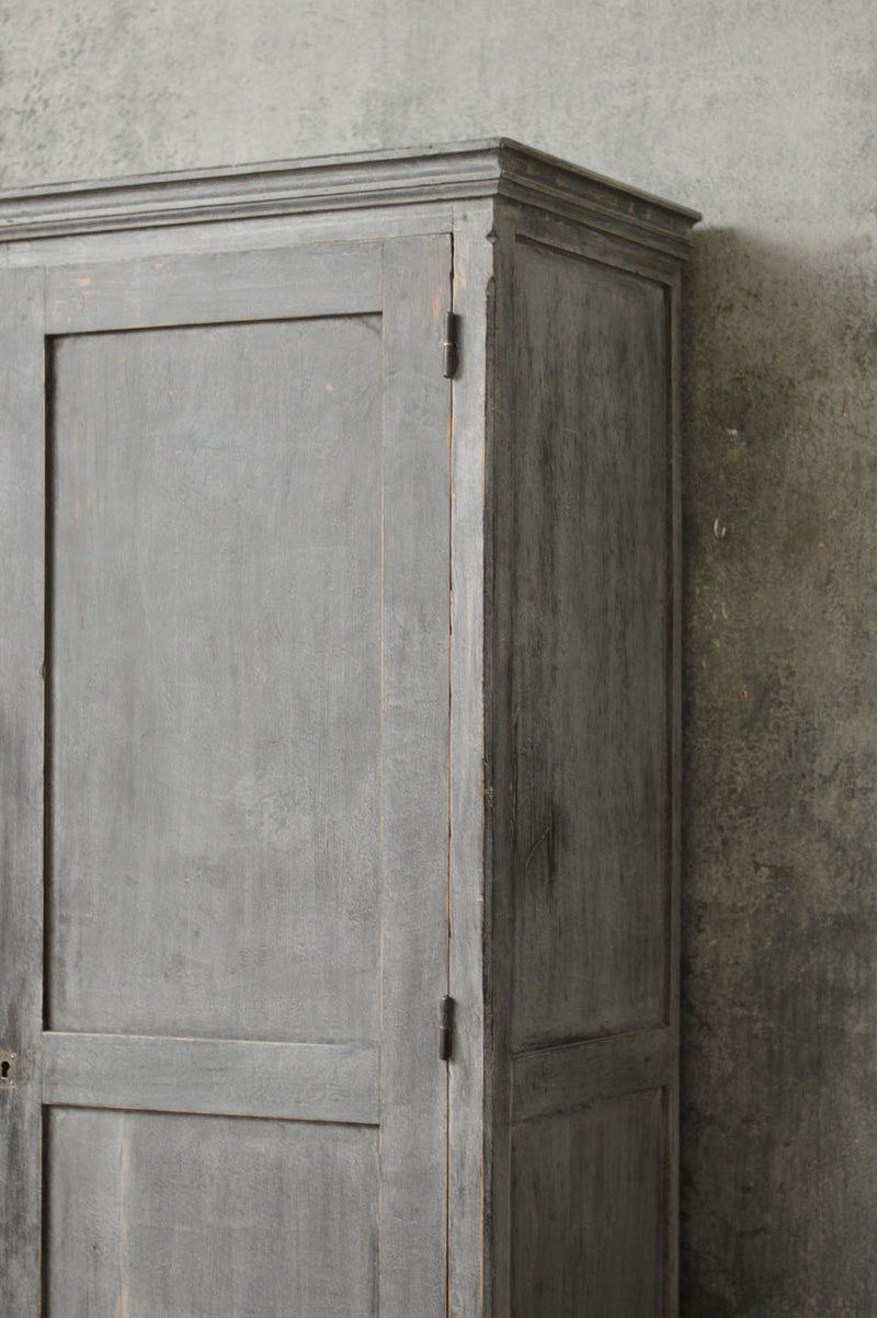 French 19th Century painted cupboard