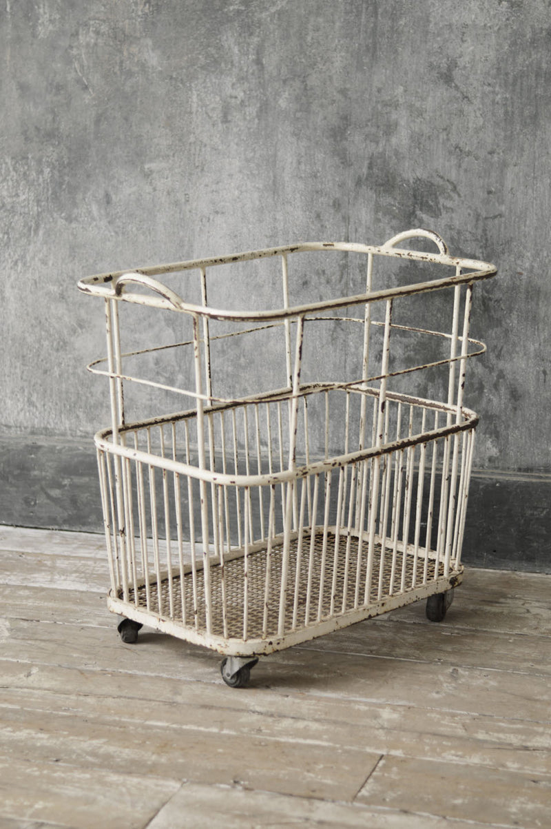 ANTIQUE BAKERS TROLLY