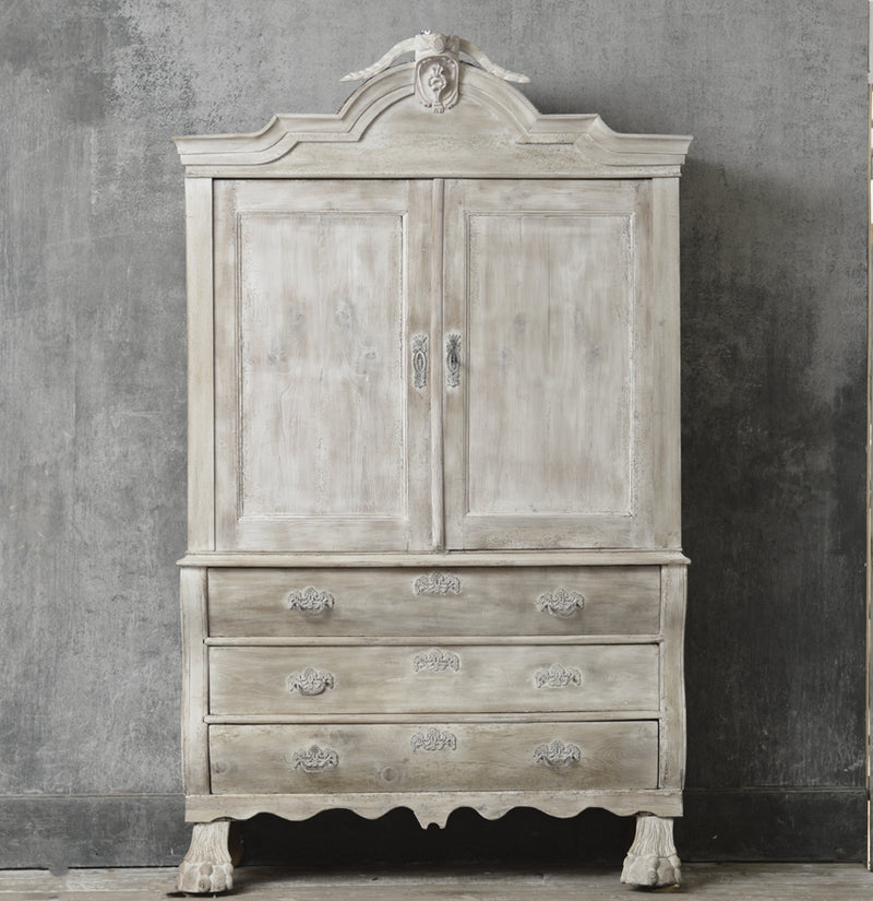 FRENCH 19TH CENTURY GRAND TOUR COMMODE