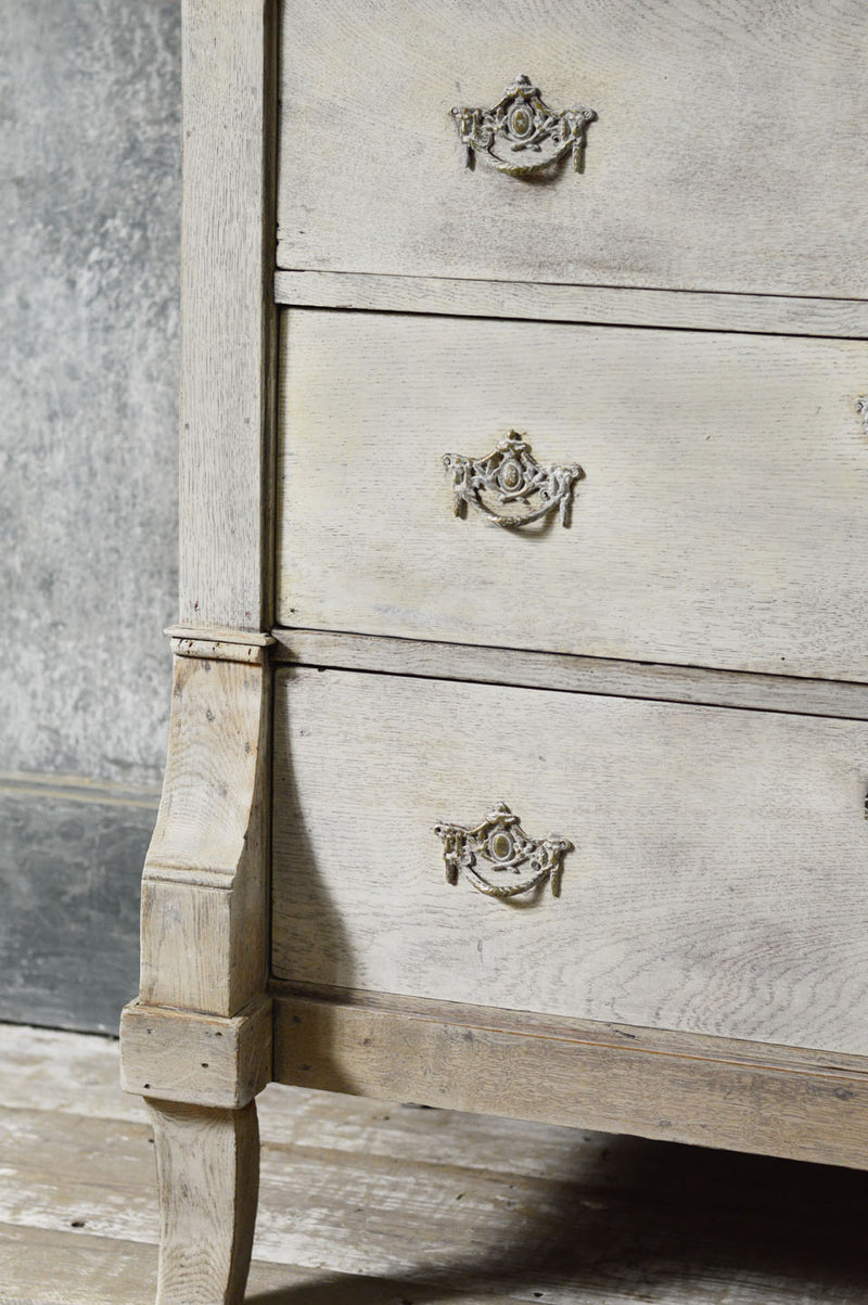 18th Century painted Dutch commode.