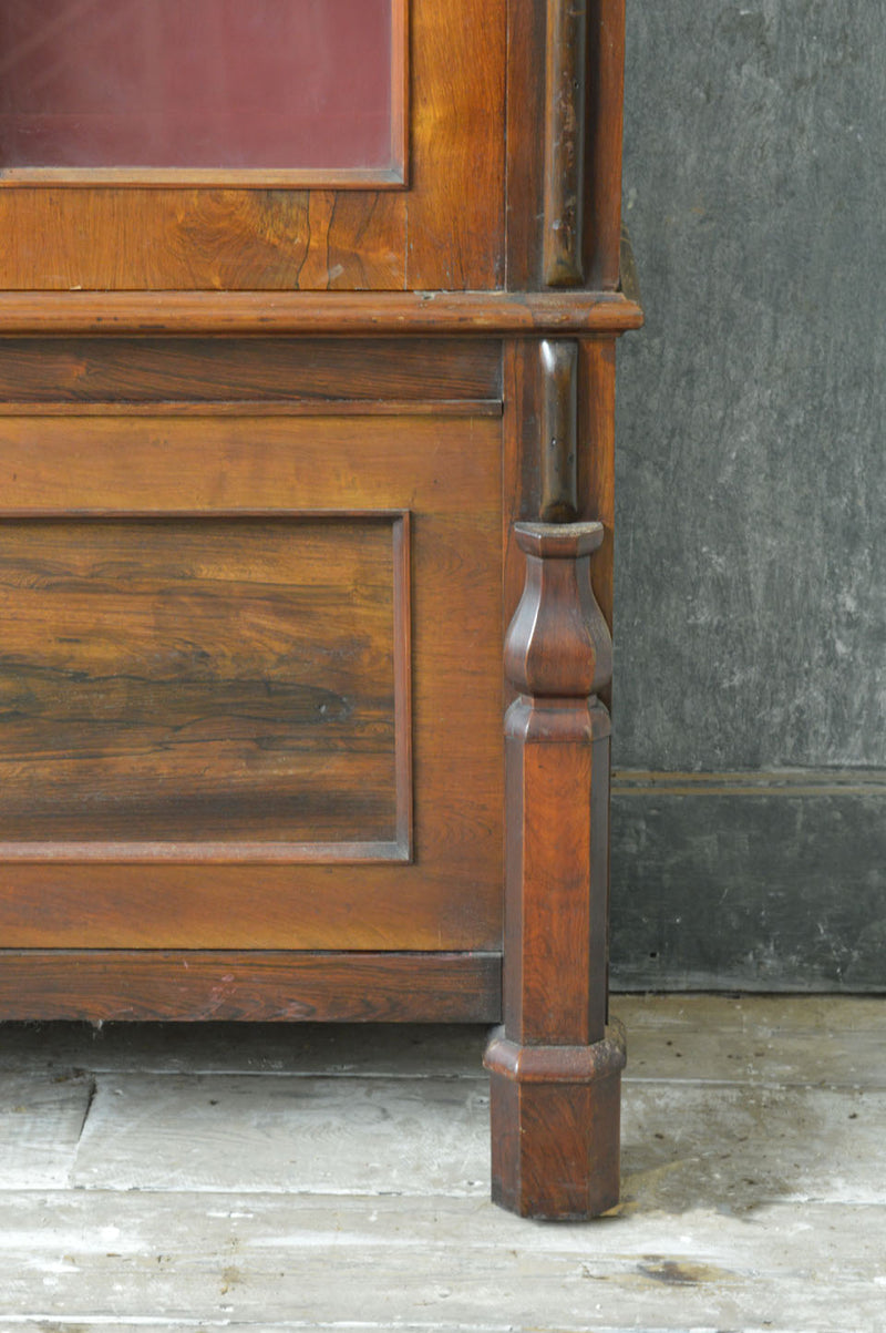 19th Century Scottish bookcase in rosewood.