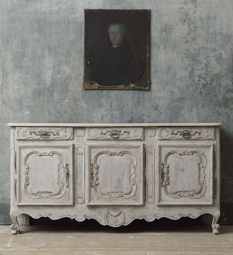 French 18th Century painted Enfilade