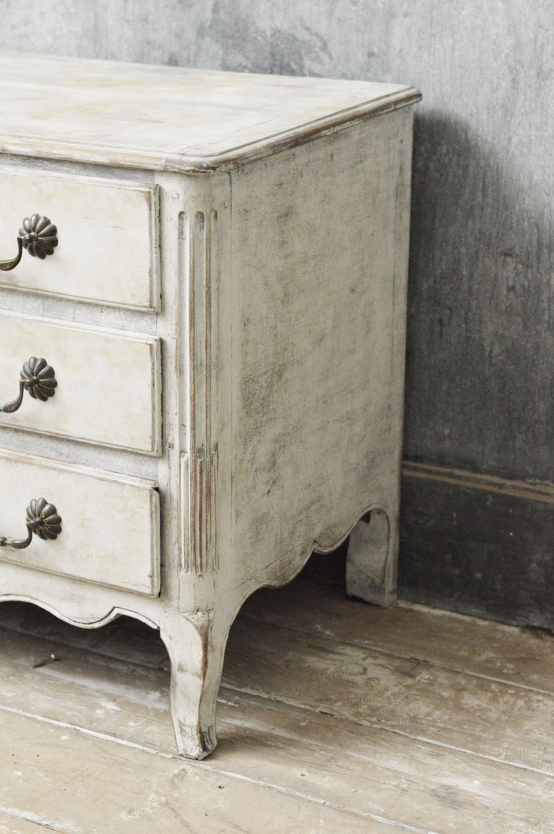 French 19th Century painted commode