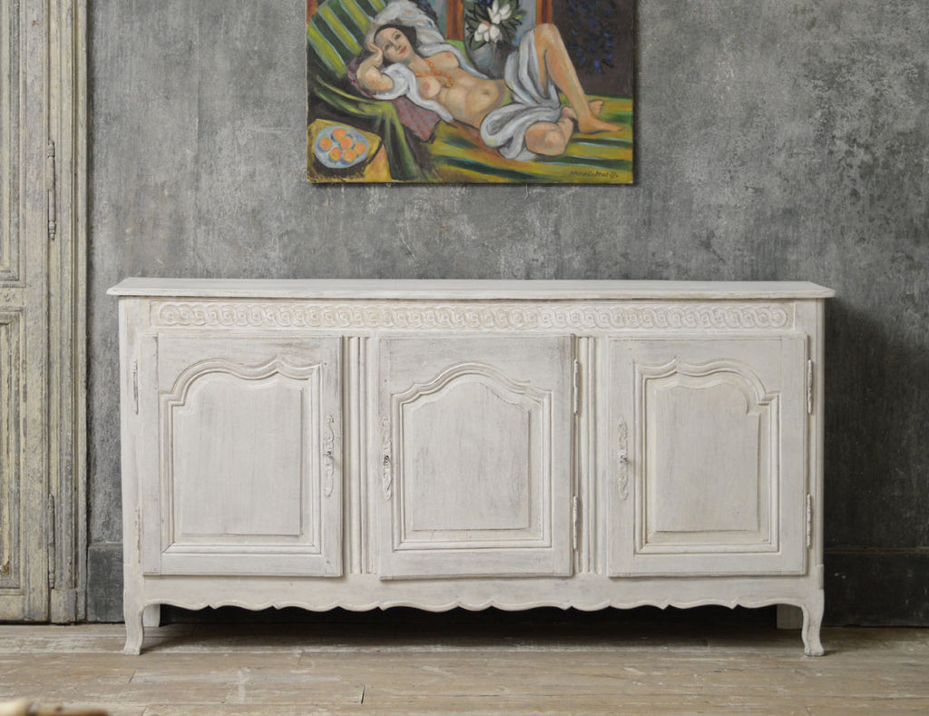 French 19th Century painted Enfilade