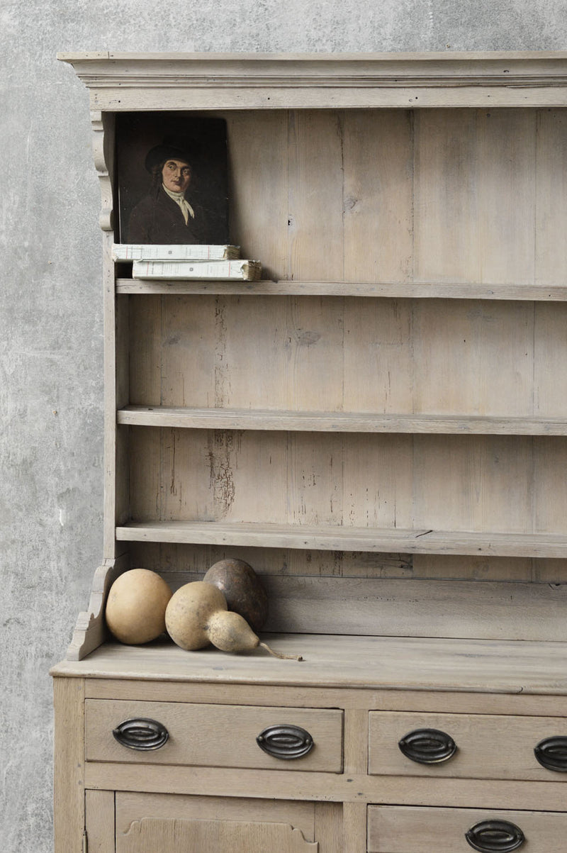English 18th Century country oak dresser