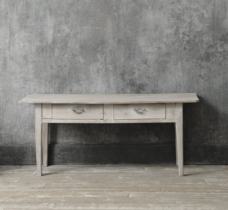 ENGLISH LOW CONSOLE TABLE