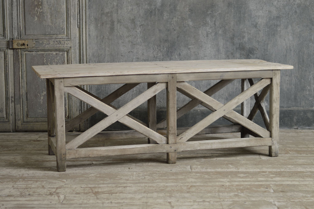 FRENCH 19TH CENTURY CONSOLE / SERVER TABLE.