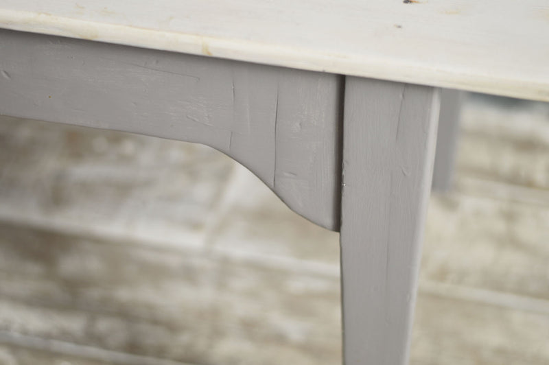 FRENCH 19TH CENTURY PAINTED FARMHOUSE TABLE