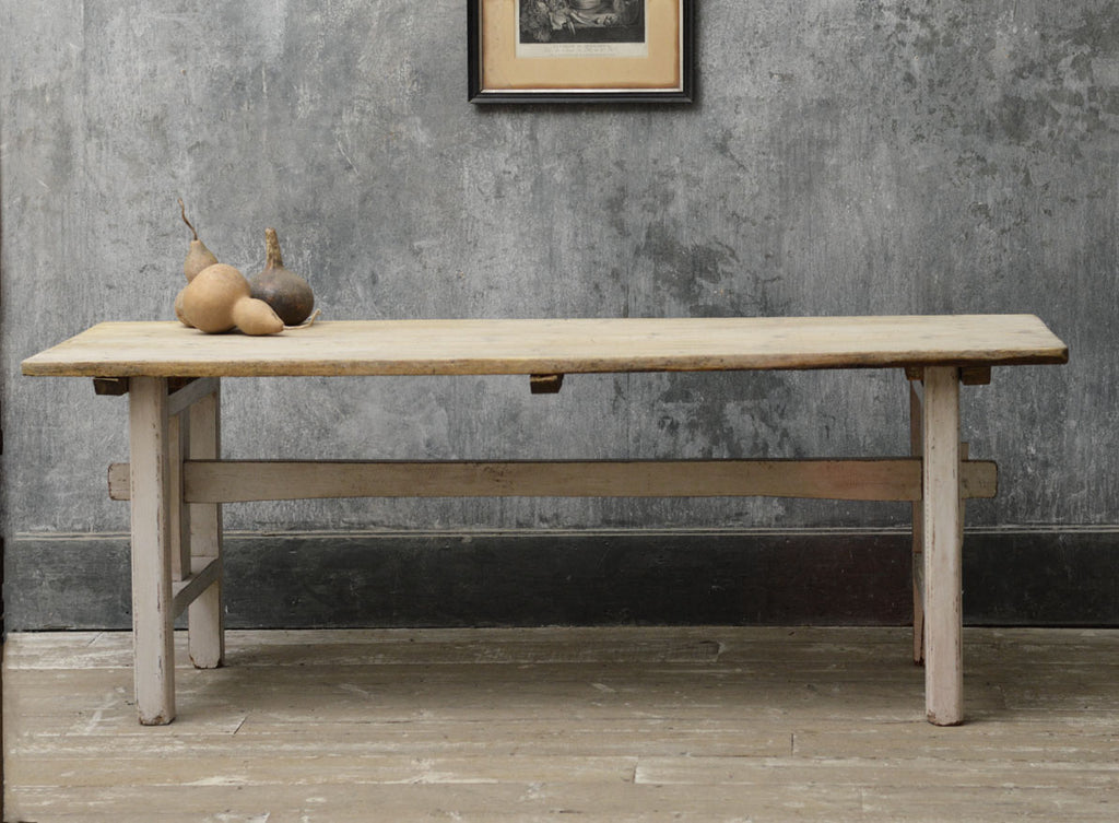 Swedish 19th Century trestle table