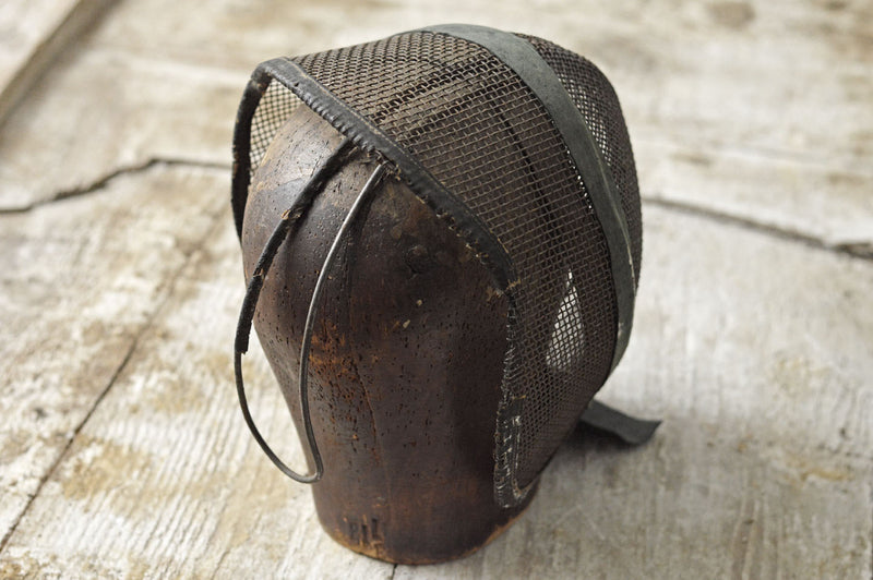 French 19th Century fencing mask
