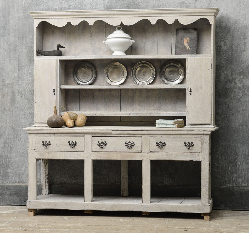 English Georgian country dresser