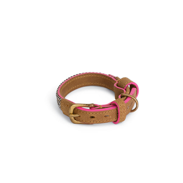pink edge stain collars