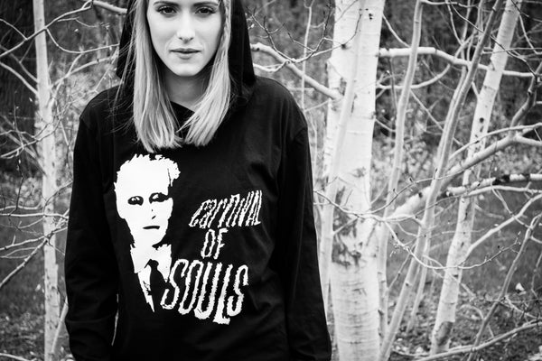 Carnival of Souls Hooded T Shirt cast and crew gift example