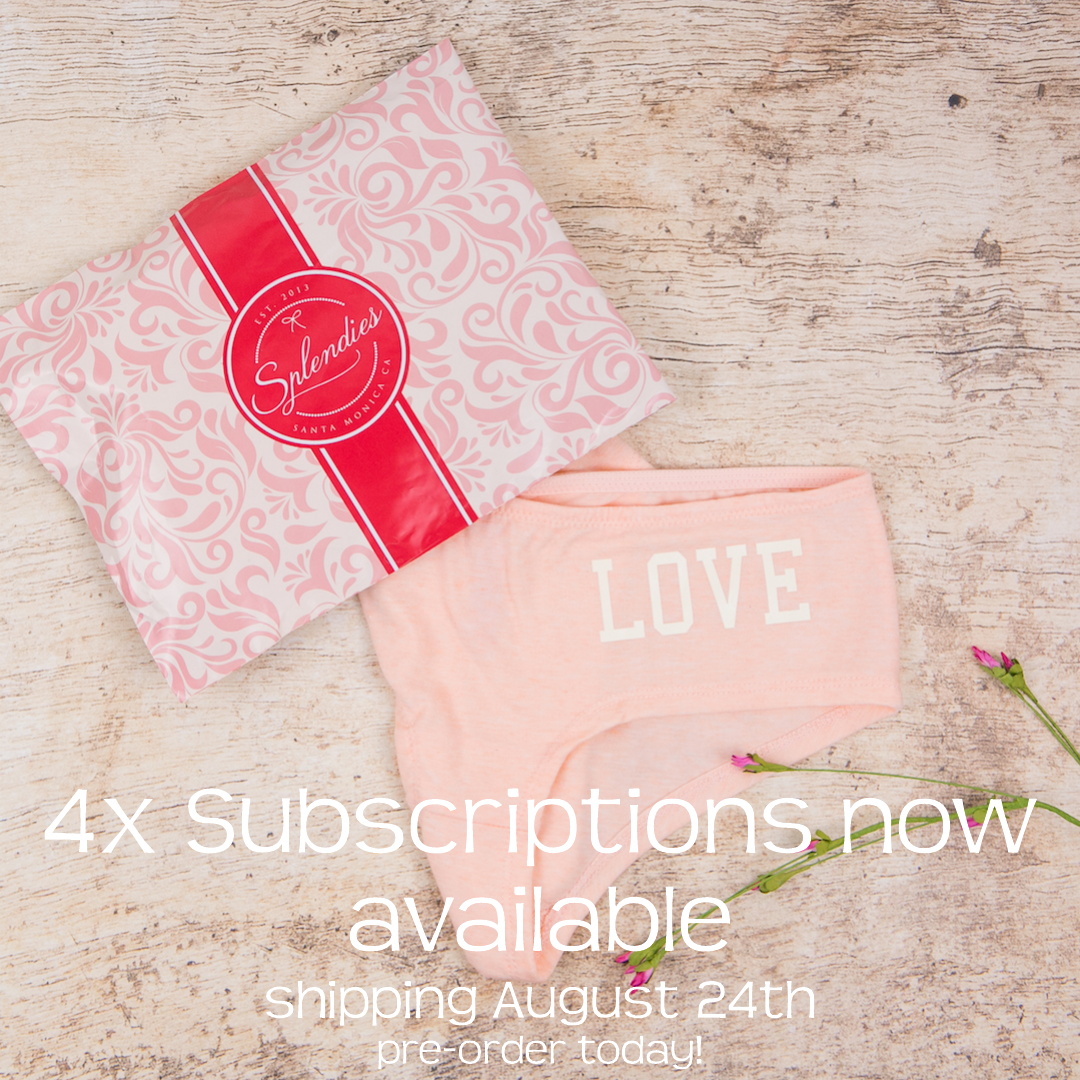 4X Size Subscriptions Now Available for Splendies! Pre-Order Today!