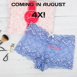 New Size! Coming Soon! 4X Coming to Splendies Plus Sizes in August
