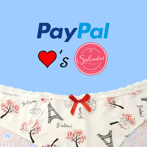Splendies Now Accepts Paypal!