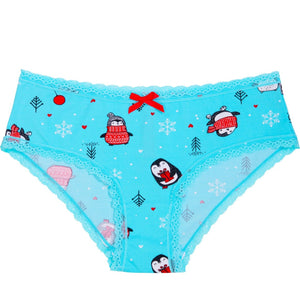 Playful Penguin Holiday Bikini