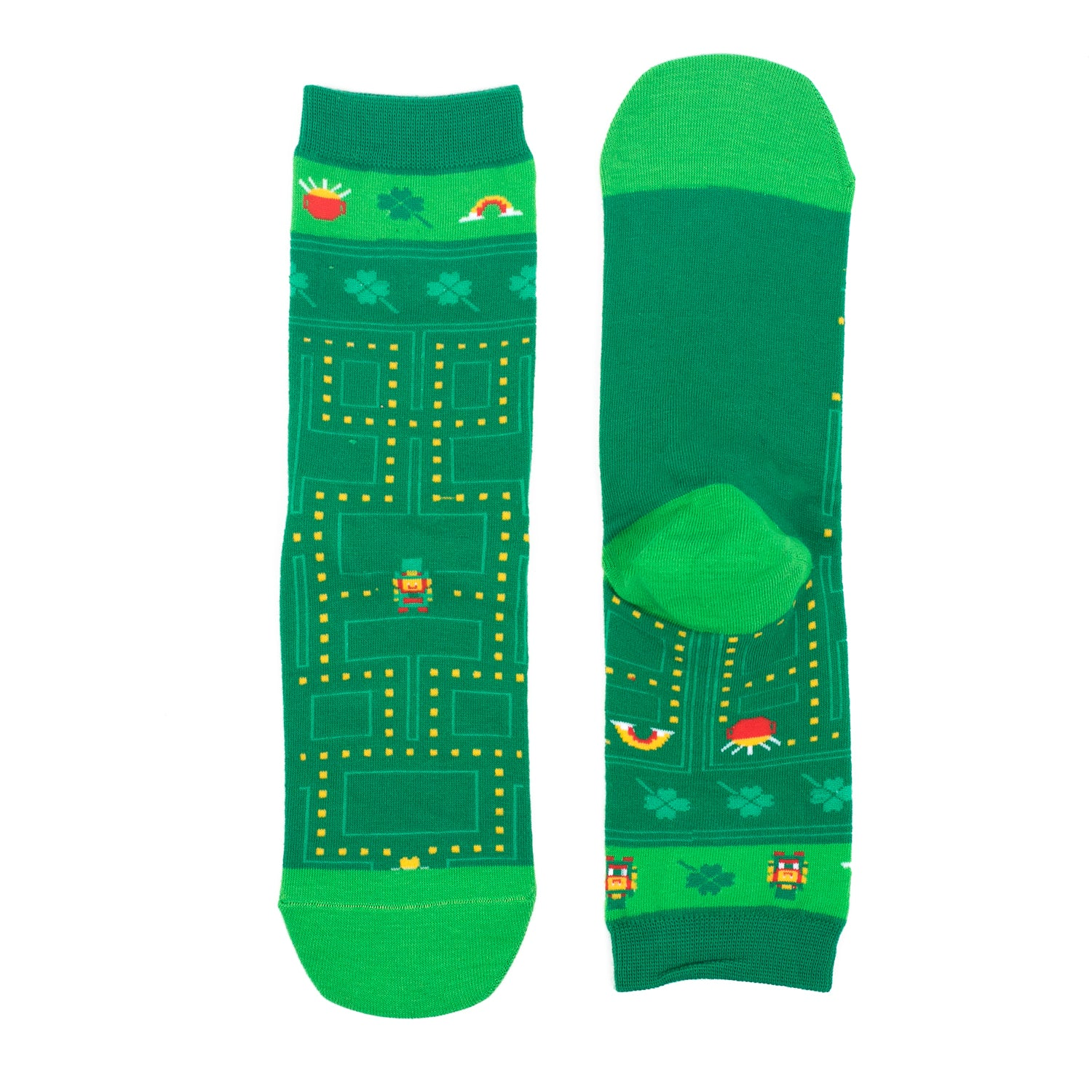 St Patrick's Day Socks - Find the Gold