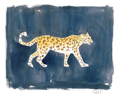 Leopard on Ink // Caitlin McGauley