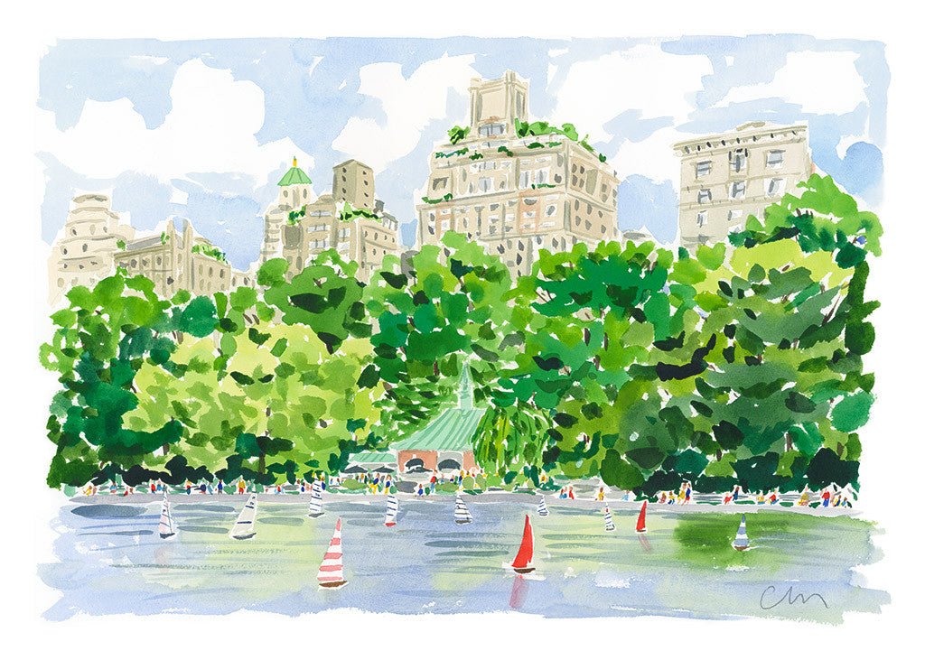 The Boat Pond in Central Park