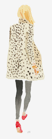 Leopard Coat // Caitlin McGualey