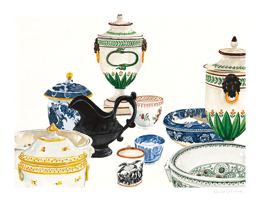 Scottish China // Camilla Clutterbuck