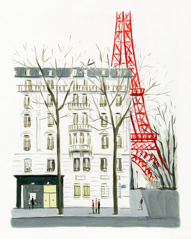 La Tour Eiffel // Dominique Corbasson