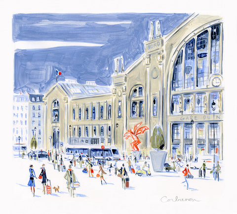Gare du Nord // Dominique Corbasson