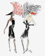 Birds of a feather flock to Philip Treacy // Gladys Perint Palmer