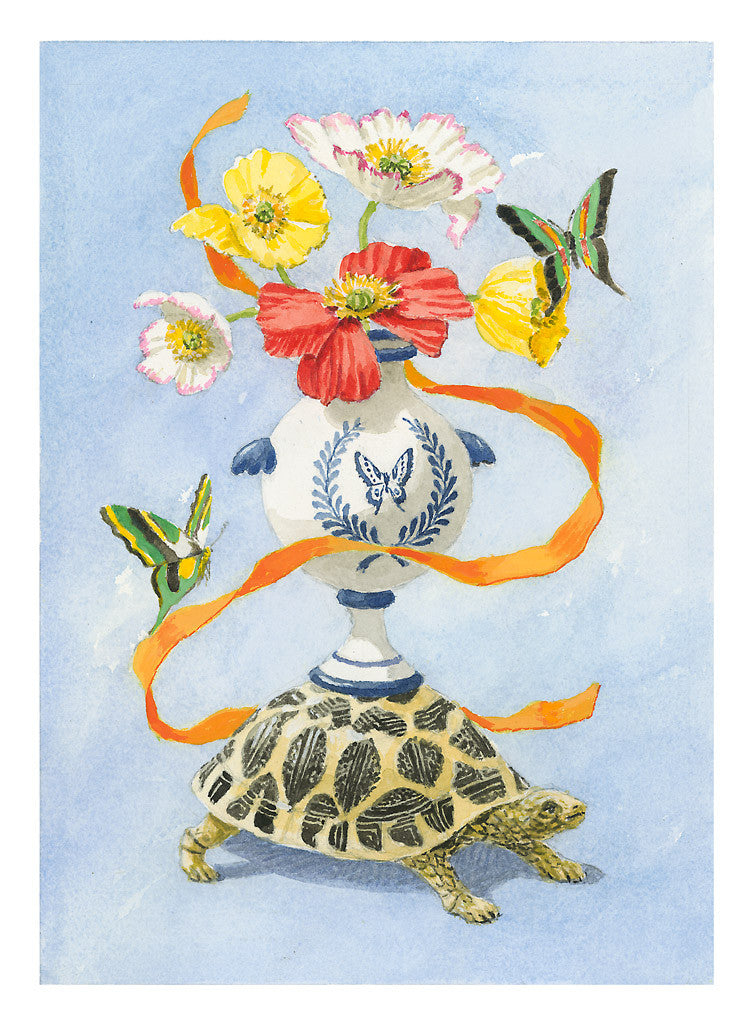 Turtle with Urn - Harrison Howard
