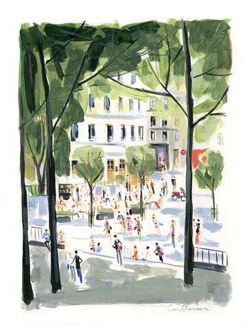 Place Emile Goudeau // Dominique Corbasson