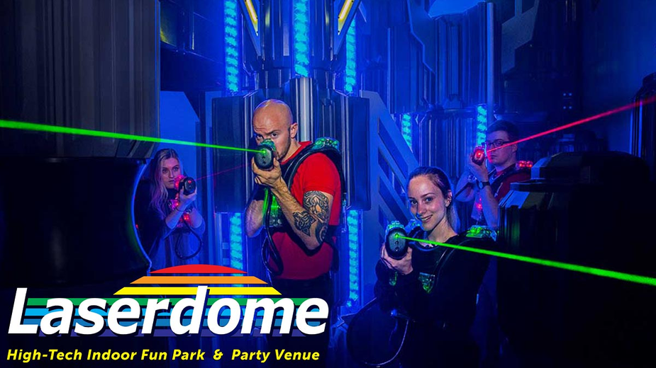 Laserdome Laser Universe Birthday Party