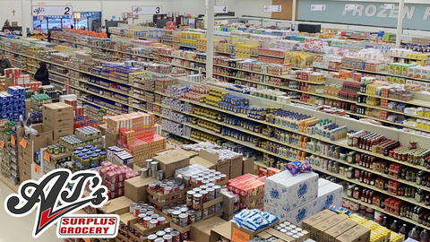 AJ's Surplus Grocery: Discount Grocery and Household Products - $30 Certificate