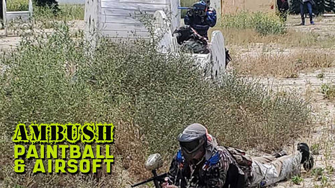 Ambush Adventure Park: Walk-on Play Paintball Admission
