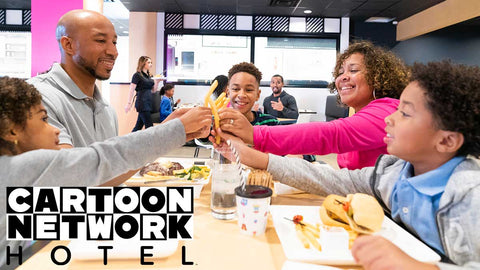 Cartoon Network Hotel: $30 Worth of Family-Friendly Dining at the Cartoon Kitchen
