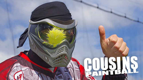 Cousins Paintball New Jersey: Open Play Admission for Two