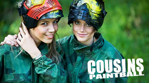 Image of Cousins Paintball New Jersey: Open Play Admission for Two