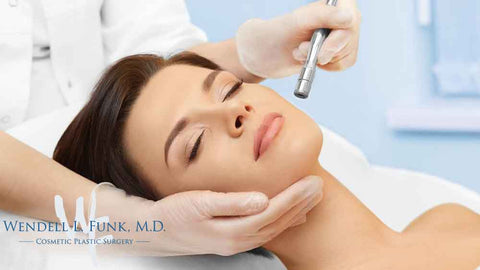 Dr. Wendell L Funk Cosmetic Plastic Surgery - Facial Microdermabrasion Treatment