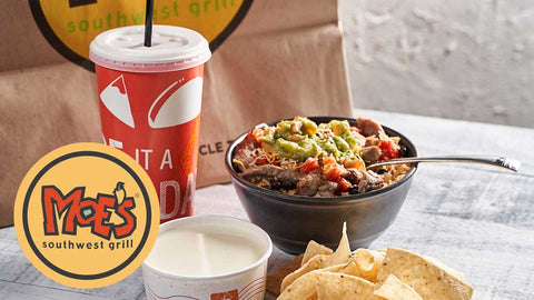 Moe's Southwest Grill: $30 Worth of Mexican and Tex-Mex Cuisine (East Windsor, Lawrence, Hamilton)