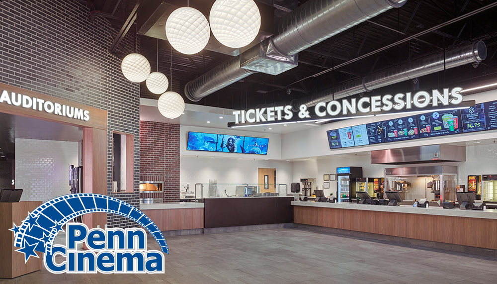 Penn Cinema Huntingdon Valley: Two Movie Tickets, Large Popcorn, and Two Sodas