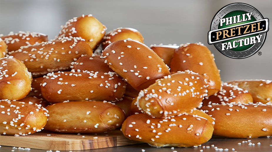 Philly Pretzel Factory | Camp Hill: Full-Size Pretzel Rivets Pretzel Tray