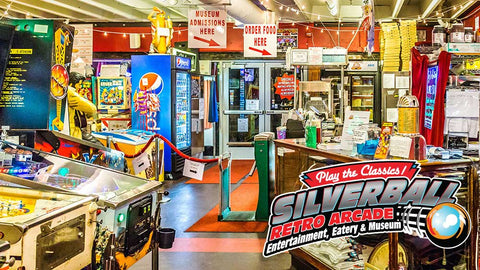 Image of Silverball Museum Arcade - Two All-Day Play Passes