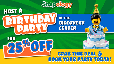 Snapology of Lancaster: Discovery Center Birthday Party