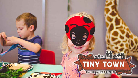 Tiny Town Indoor Kids Playplace: $100 Towards a Deluxe or Ultimate Party Package